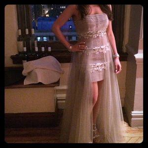 Sherri Hill Chiffon dress. Stunning and Stylish on